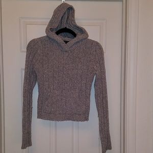 Abercrombie & Fitch grey hoodie sweater